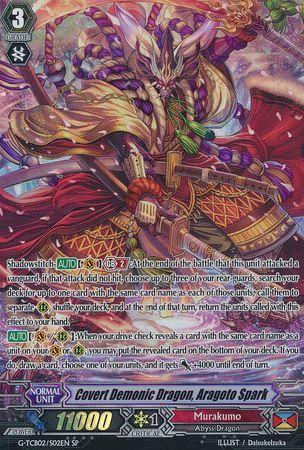 Covert Demonic Dragon, Aragoto Spark (#S02)