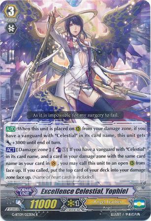 Excellence Celestial, Yophiel