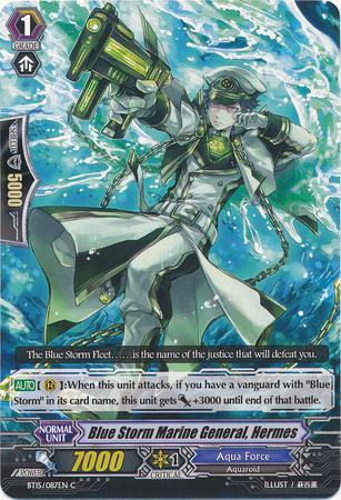 Blue Storm Marine General, Hermes