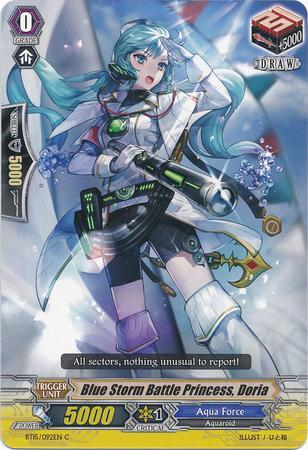 Blue Storm Battle Princess, Doria