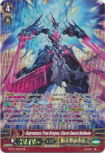 Supremacy True Dragon, Claret Sword Helheim (#S03)