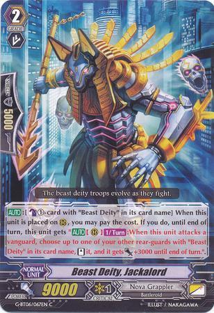 Beast Deity, Jackalord