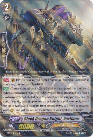 Black Dragon Knight, Vortimer
