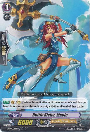 Battle Sister, Maple