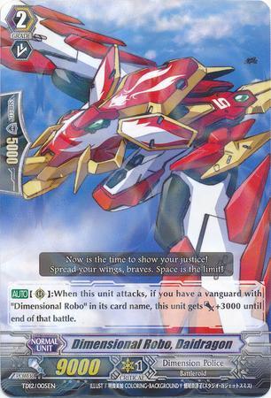 Dimensional Robo, Daidragon