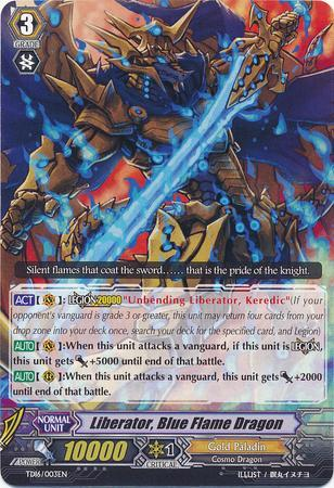 Liberator, Blue Flame Dragon