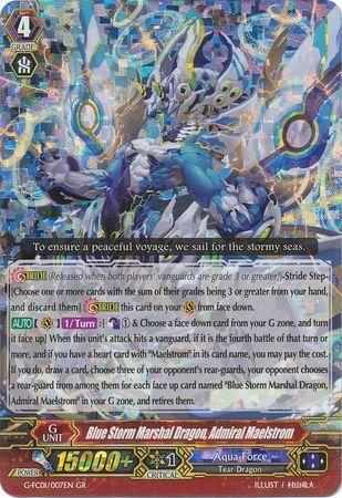 Blue Storm Marshal Dragon, Admiral Maelstrom