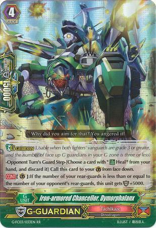 Iron-armored Chancellor, Dymorphalanx