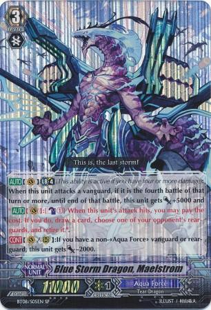 Blue Storm Dragon, Maelstrom (#S05)