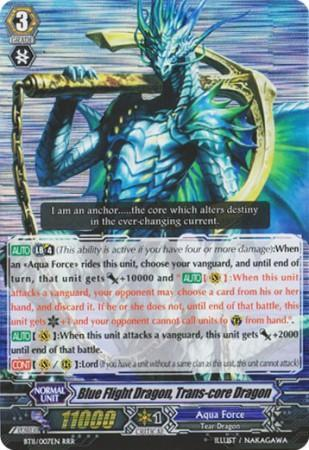 Blue Flight Dragon, Trans-core Dragon