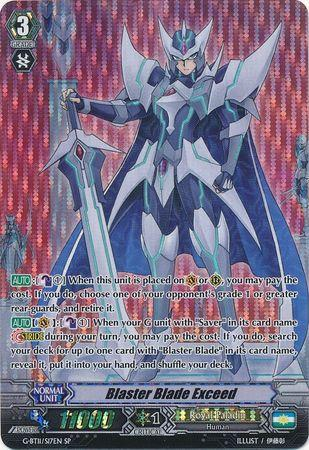 Blaster Blade Exceed (#S17)