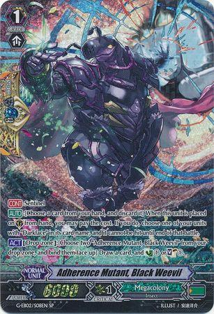 Adherence Mutant, Black Weevil (#S08)