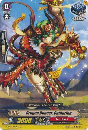 Dragon Dancer, Catharina