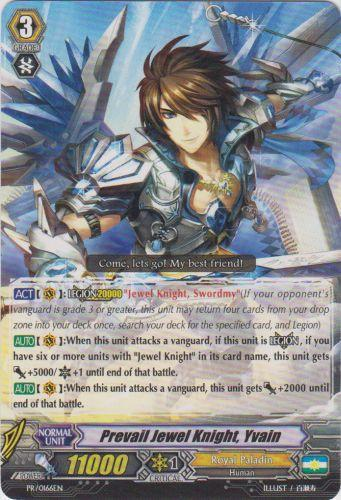 Prevail Jewel Knight, Yvain (#166)