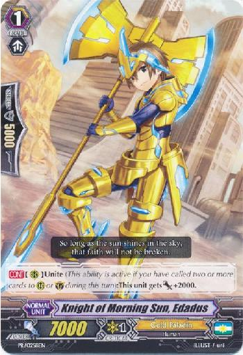 Knight of Morning Sun, Edadus (#258)